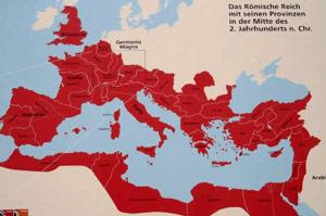 römische reich deutscher nation karte