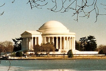 jefferson memorial and the pantheon essay Jefferson greatly admired the neoclassical architecture of ancient greece, so it's appropriate that his memorial was modeled after the pantheon climb the tall, marble steps, stopping to take a breath-taking view of the white house.